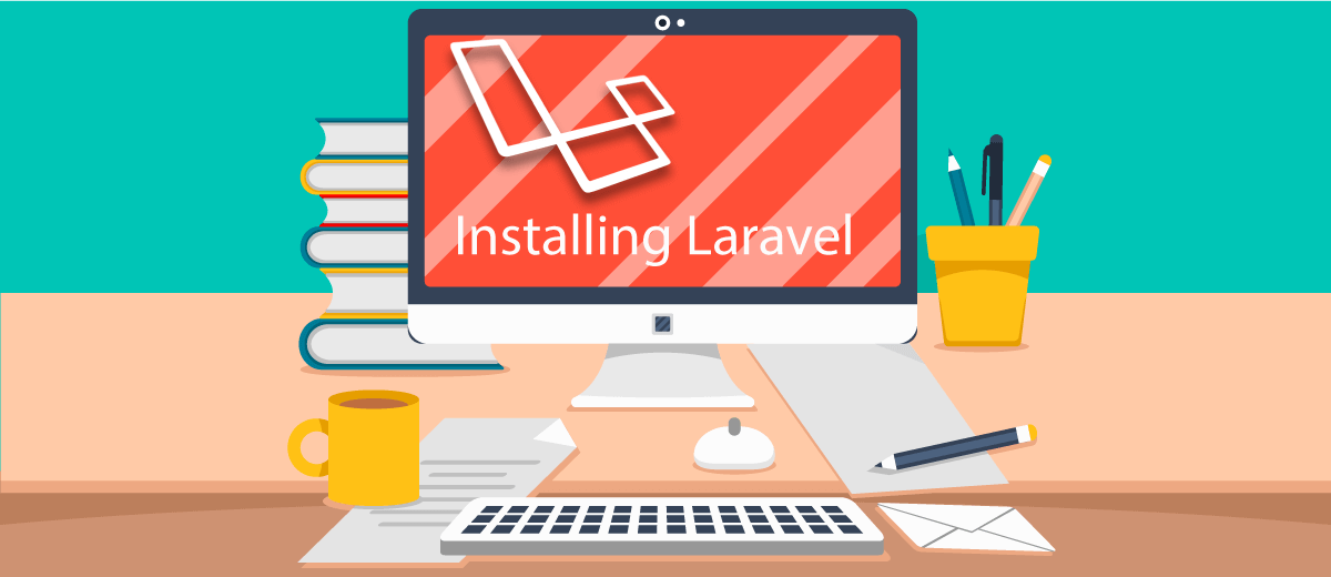Downloading and installing the Laravel via composer in windows