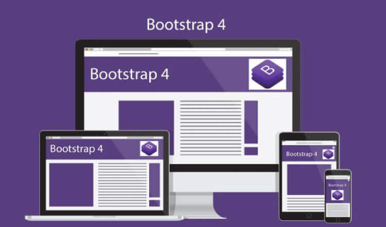 The Complete Bootstrap Tutorials from bootstrap 3 to bootstrap 4 with five projects
